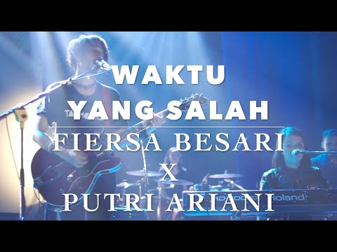 Fiersa Besari X Kerabat Kerja - Waktu Yang Salah Feat Putri Ariani Live Concert