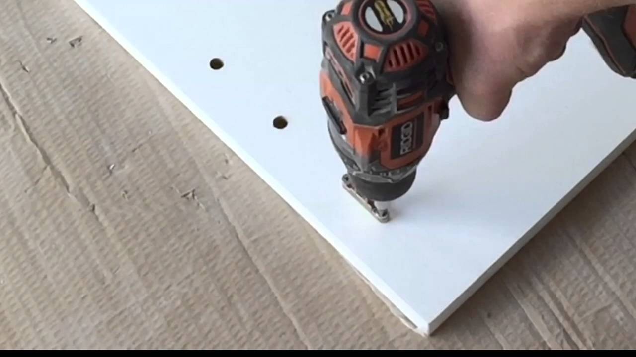 How to assemble a DTC drawer box from Cabinets To Go   YouTube