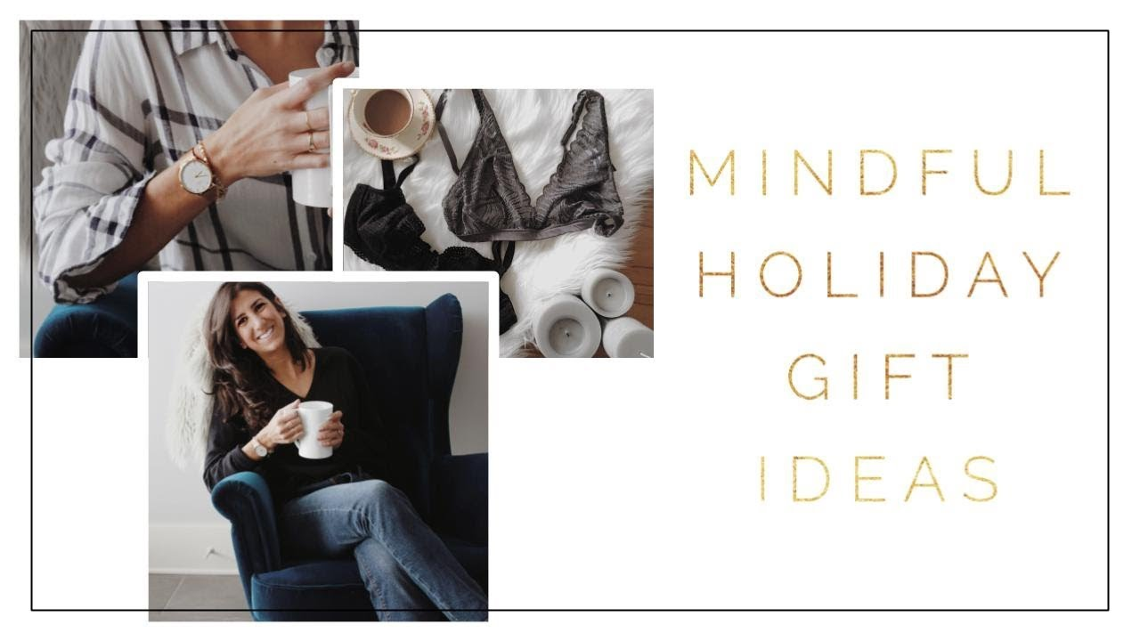 Thoughtful Christmas Gift Ideas | Sustainable + Minimalist Gift ...