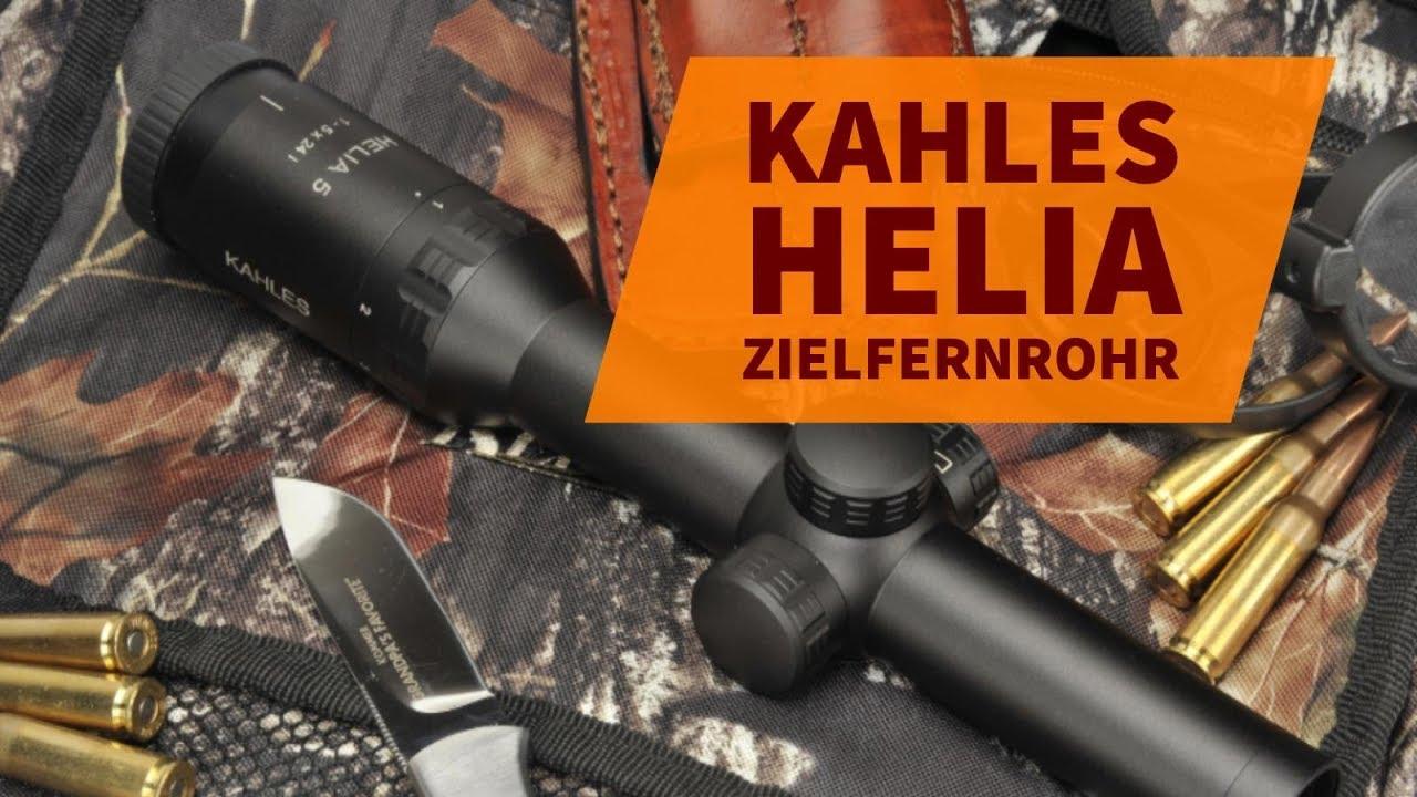 Kahles helia i für welche jagdarten eignet sich das neue