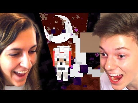 We Got Trapped in the Nether in Minecraft