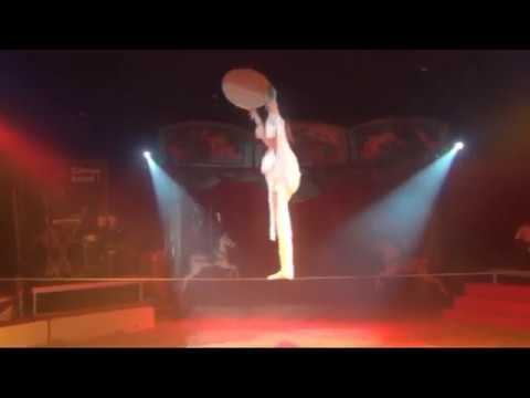 tight-rope circus act
