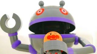 アンパンマン アニメおもちゃ 歌 だだんだん ぱっくんコロロン ♪ それいけ!コロロンパーク テレビ Anpanman thumbnail