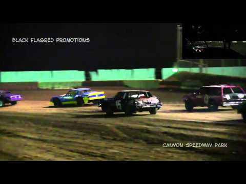 Canyon Speedway Park- Pure Stock Heat #1 March 14th 2015