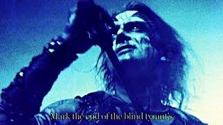Watain - Black Flames March  (LYRIC VIDEO)