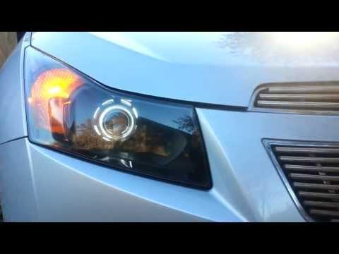 Работа поворотников Chevrolet Cruze