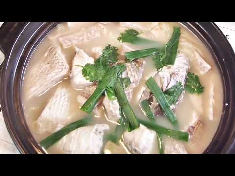 How To Cook No Milk Singapore Fish Head Steamboat 鱼头炉 Singapore Food Recipe | Chinese Fish Recipe