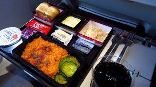 TRIP REPORT   Qatar Airways A380 (ECONOMY)   London Heathrow to Doha   Empty Flight!