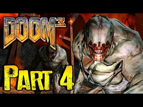 DOOM 3 Gameplay Walkthrough BFG EDITION Part 4 - SCARY FLY BABY