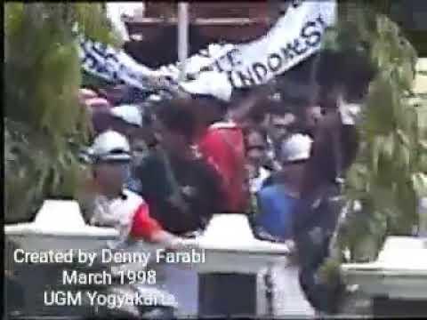 Demo Mahasiswa UGM tgl 4 dan 5 Maret 1998