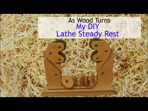 My DIY Lathe Steady Rest