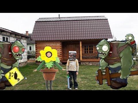 Plants vs zombies real life Minecraft Mod