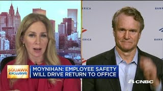 Bank of America CEO Moynihan: Warren Buffett is a great supporter of ours