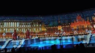 Лазерное шоу,1 января 2016 ,Дворцовая Площадь , Санкт-Петербург