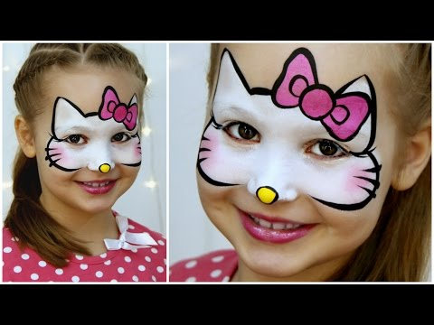 Kitty Makeup For Kids Fast Easy Face Painting Tutorial
