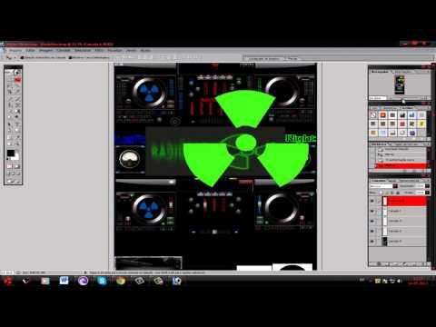como editar skin para virtual dj
