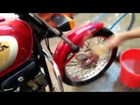 How to wash Motorcycle at Home | Motorcycle wash process in Bengali