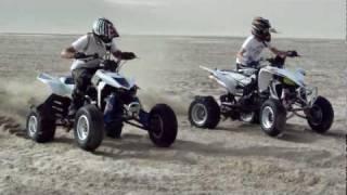 LTR 450 vs YFZ 450 drag race 1