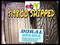 I Bought the CHEAPEST TIRES on EBAY /BLACK FRIDAY