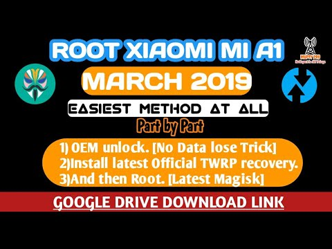 Root Xiaomi Mi A1 March 2019,install TWRP (permanently)+ OEM unlocking(✪No Data lose)! All tricks