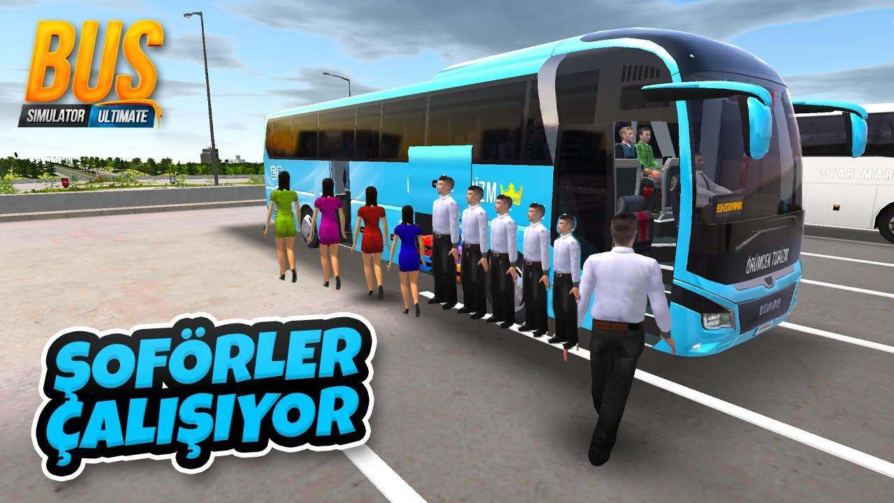 7 Tane Şoför Aldık Otobüslerimiz Çalışmaya Başladı - Otobüs Simulator Ultimate