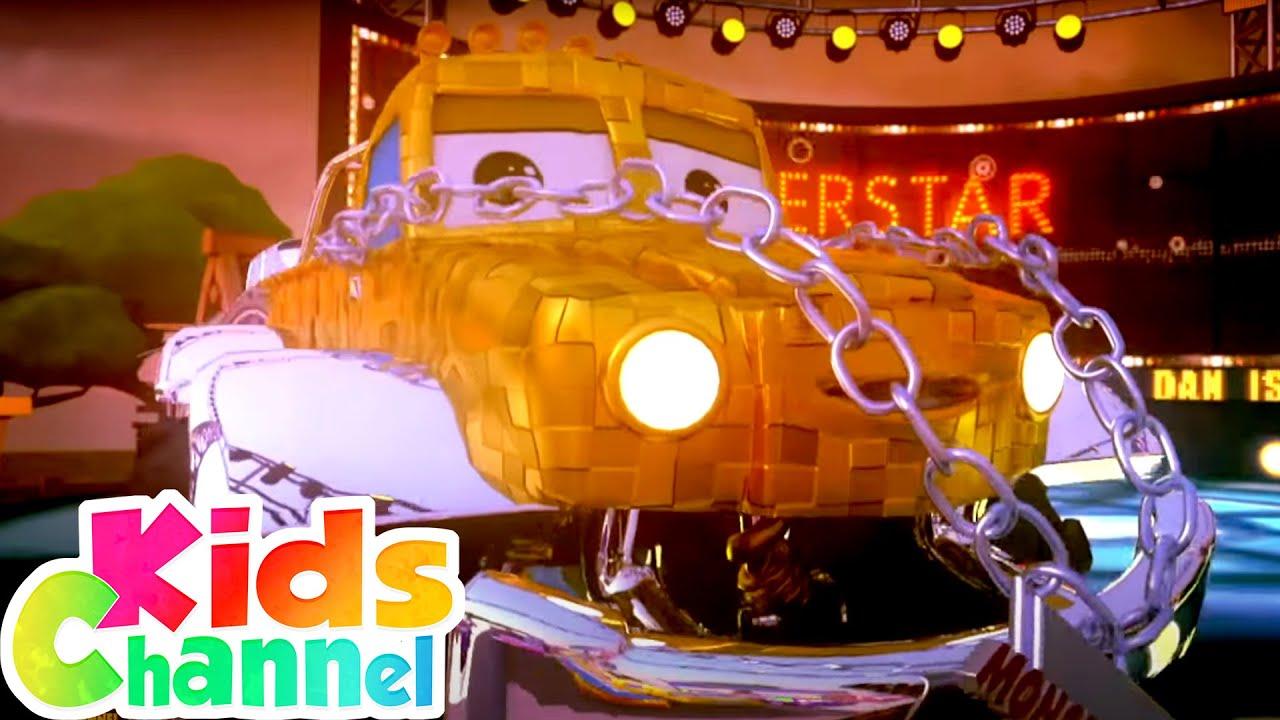 I AM DAN | Monster Truck Dan Car Cartoons | Car Cartoon Videos for Children | Street Vehicles