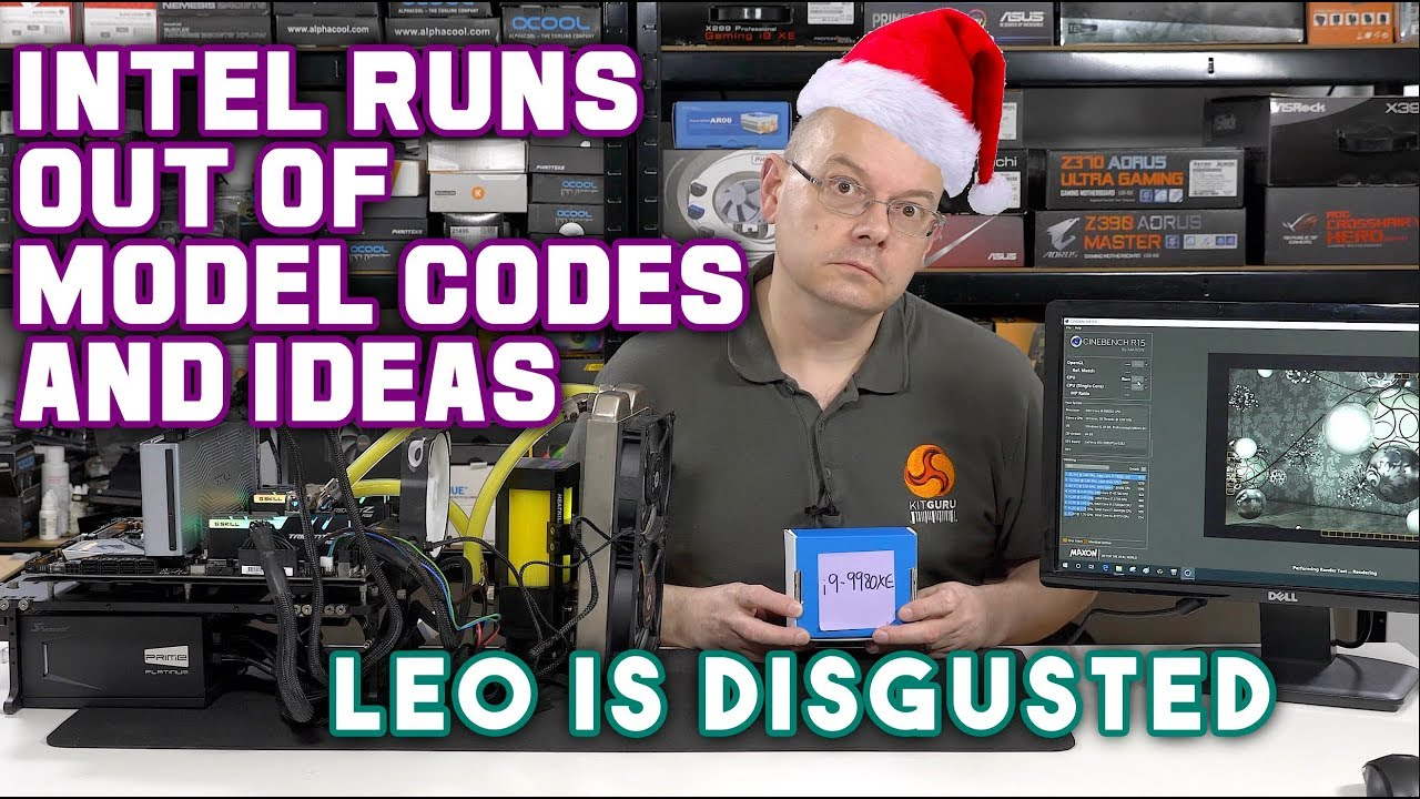 Intel Core i9 9980XE Review - LEO DOESN'T like this TURKEY!