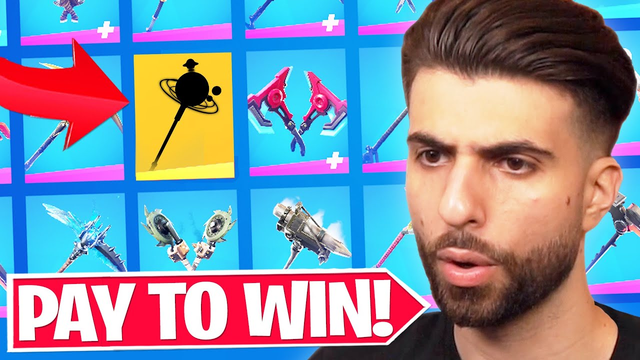 Fortnite Dropped ANOTHER Pay To Win Pickaxe...