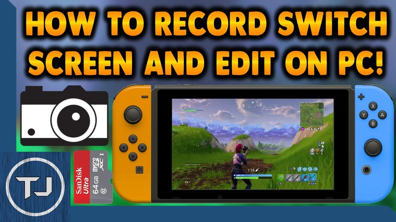 Record Nintendo Switch Screen & Edit Footage On PC! For FREE!