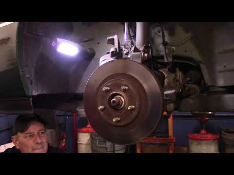 How To Replace Front Brakes 2000-2005 Buick LeSabre – Park Avenue