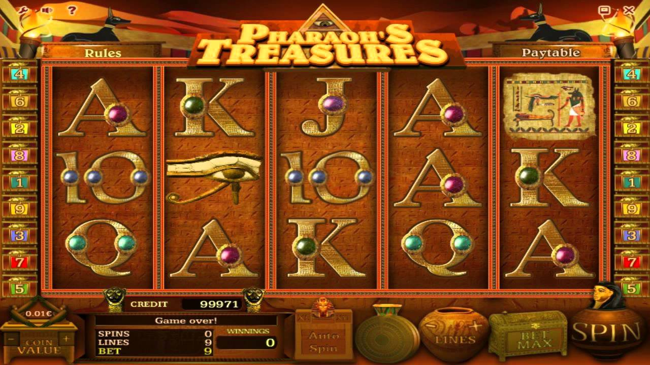 PharaohS Treasure Slot