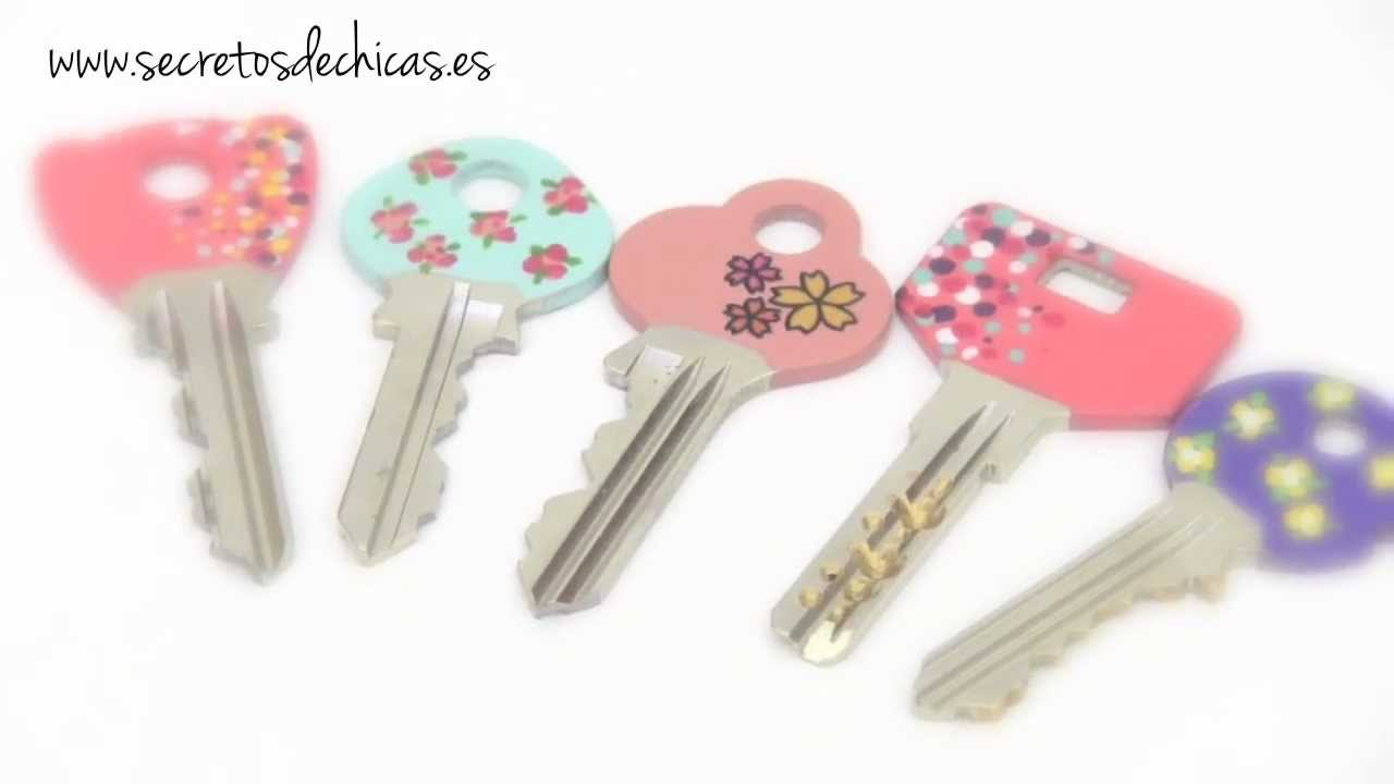 Decora tus llaves con esmaltes de u as youtube for Como hacer decoracion de unas