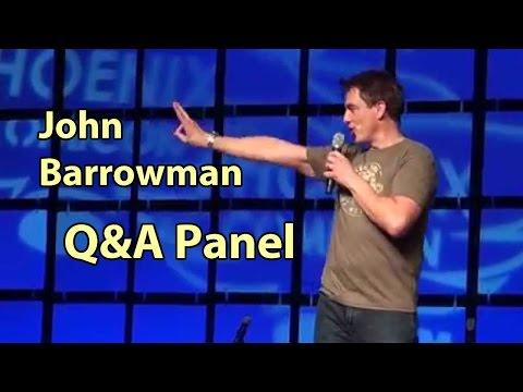 John Barrowman Strikes Arrow Back HD 2014 Torchwood Doctor Who Phoenix Comicon Panel Myles