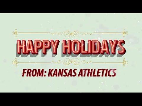Happy Holidays from Kansas Athletics // 12.23.15