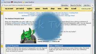 neopets cheats neopoints