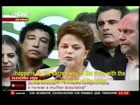 Dilma Rousseff - First Woman President of Brazil - Complet English Captions.