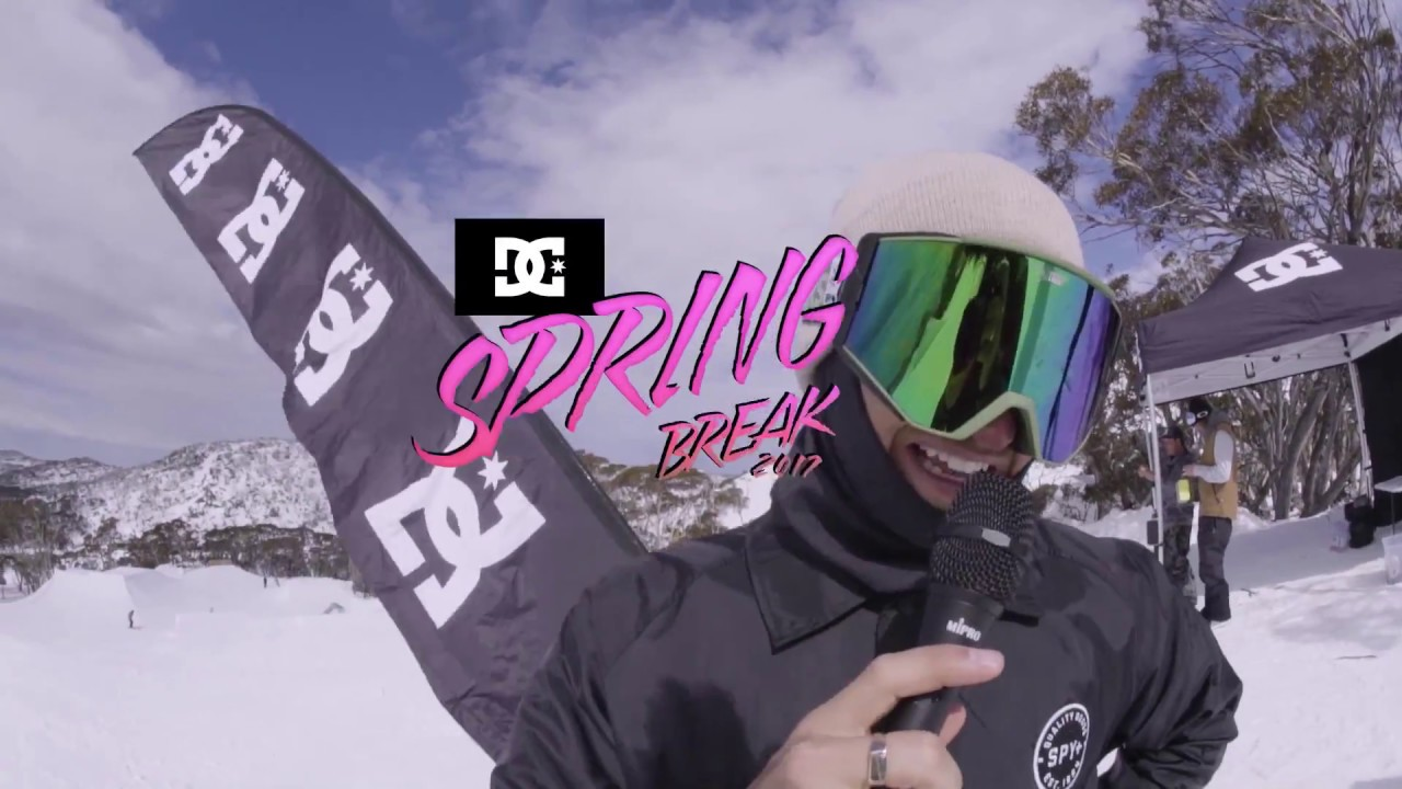 DC SNOWBOARDING: SPRING BREAK 2017