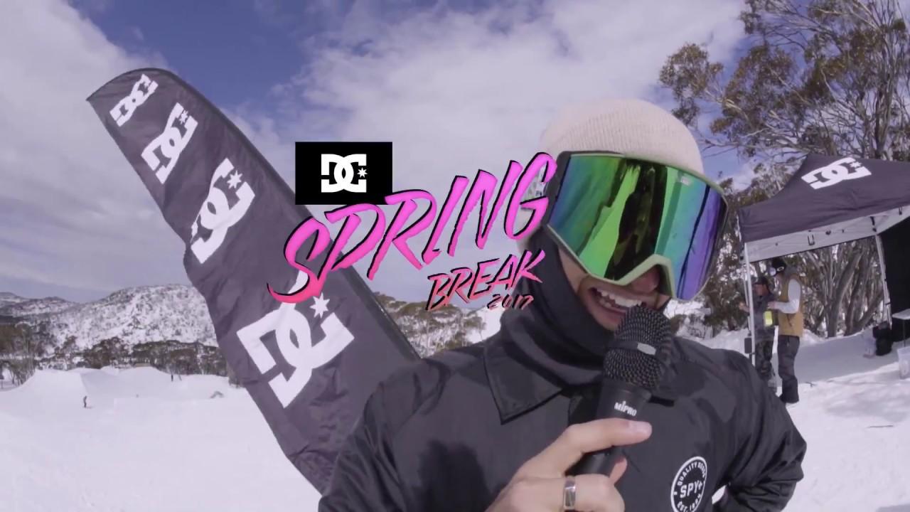 DC SNOWBOARDING: SPRING BREAK 2017