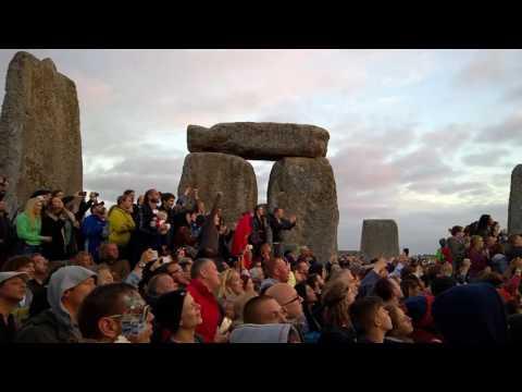 Stonehenge Summer Solstice Sunrise 2016