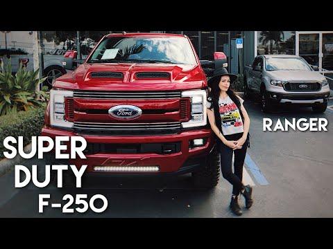 Enquanto A Ford Super Duty F 250 2020 Nao Chega Youtube