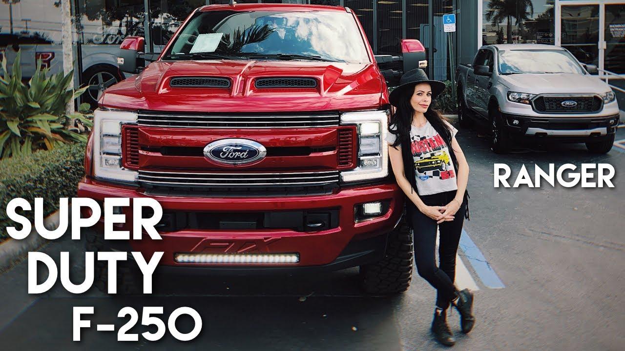 Conheca A Ford Super Duty F 350 2019 Vendida Nos Eua Youtube