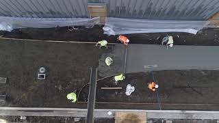 September 26, 2017: Nordic Museum Construction Progress (Sidewalks)