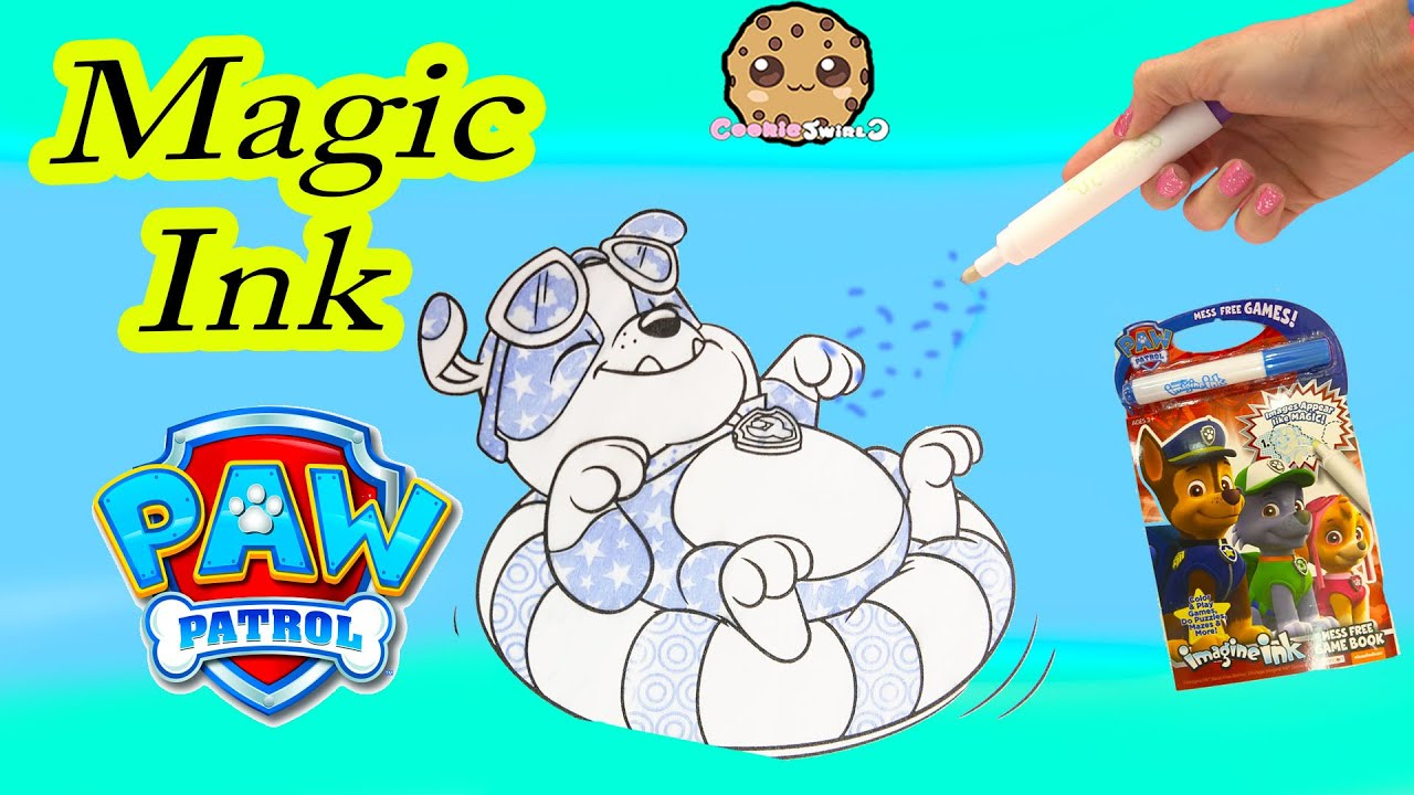 Paw Patrol Imagine Ink Magic Marker Pen Book with Surprise ...
