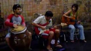 Sultans of Swing - Street Musicians (BCN)