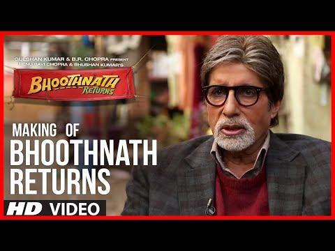 Making of Bhoothnath Returns | Big B Masti | Amitabh Bachchan, Boman Irani, Parth Bhalerao