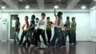 Super Junior - U mirrored dance practice