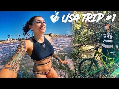 USA TRIP l perfekter Tag l Beach + MTB Trails l Santa Cruz the place to be l #75 VLOG MISS PEACHES