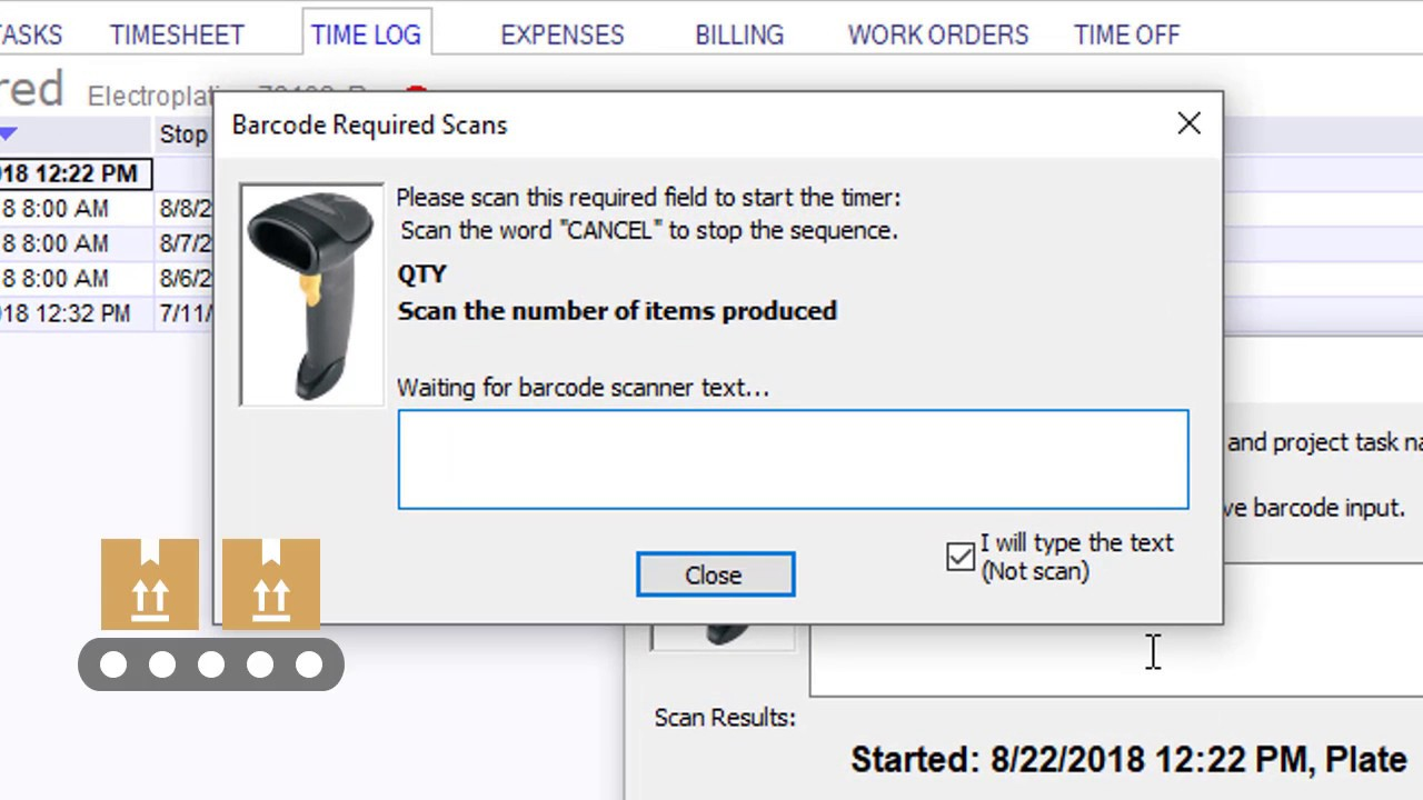 Barcode scanner – Project Team Blog