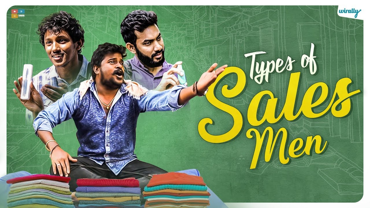 Types of Sales Men Ft. Mahathalli || Wirally Originals