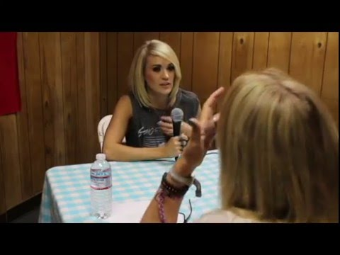 Carrie Underwood Interview at Stagecoach 2016